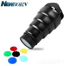 Tube de faisceau universel Flash Speedlite pour Canon 580EX Nikon SB-900 Sony Godox TT685 V850II V860II Yongnuo YN-560IV YN-568