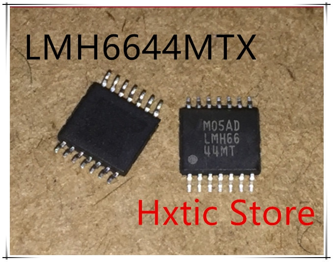 NEW 10pcs/lot LMH6644MT LMH6644MTX LMH6644 TSSOP-14