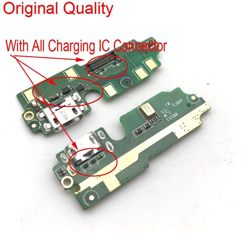 Módulo de microfone usb placa de carregamento do porto cabo flexível para xiaomi redmi 4 pro prime doca carga conector