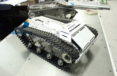 Ismaring oficial RC Robot de Metal Tank Kit de Chasis de coche con pista de Metal rastreado vehículo de gran tamaño de carga grande oruga