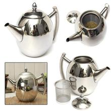 1/1.5L Stainless Steel No Dripping Vinegar Oil Pot Filter Can Bottle Teapot Juice jug Dispenser
