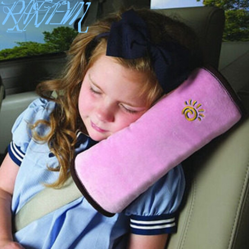 حزام أمان السيارة الكتف غطاء مراتب مضاد للماء عالي الجودة الأطفال مقعد حزام غطاء لسكودا رابيد اوكتافيا A2 A5 RS A7 اليتي فابيا كشاف كودياق رائع