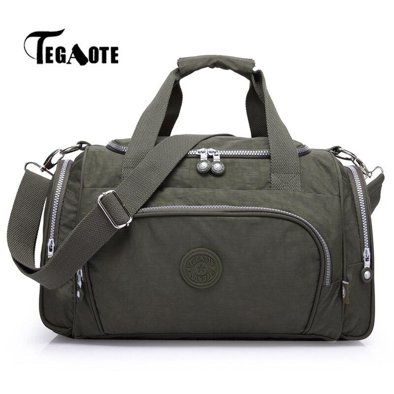 Bolsas de viaje TEGAOTE, bolso de lona para mujer, bolsos de diseño, Bolsas de alta calidad, Bolsas informales para mujer, Reistas, 2020 Sac A Main