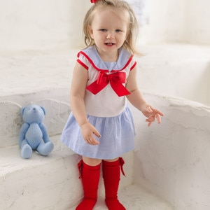2019summer Kids Cotton Toddle Clothes Bow Shirt+pants Newborn Clothes Quality Girls Ruffle Outfits  Girls Boutique Outfits