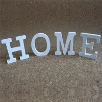 creative led luminous wood wooden letter alphabet word homelovemr mrssemper save the date for home wedding party decoration