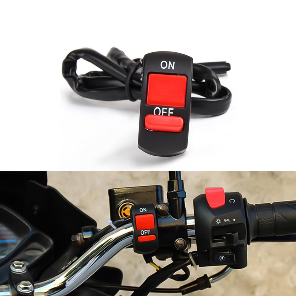 Interruptor de manillar de botón para motocicleta, interruptor de luz para YAMAHA FZ8 FZ6 XSR700 XSR900 XSR 900 XV950 XV 250 950