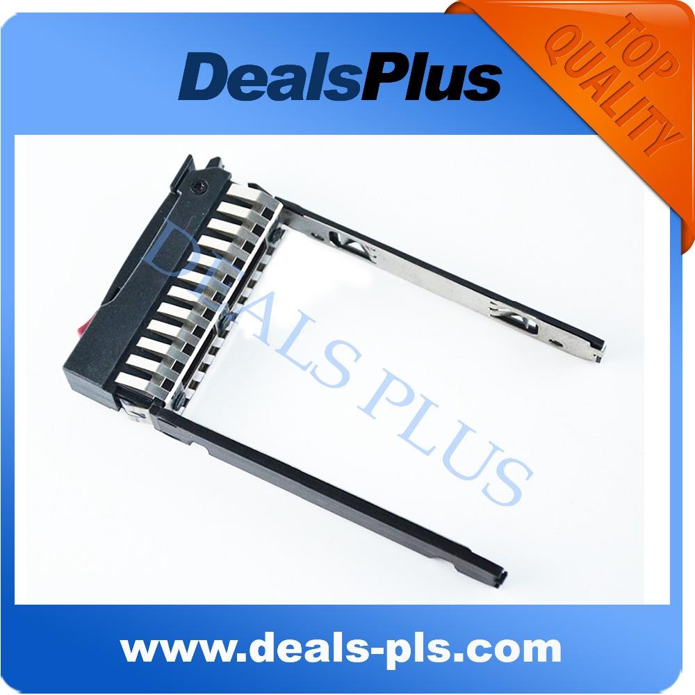 Nueva bandeja de disco duro SATA HDD de 2,5 pulgadas Caddy para HP G5 G6 G7 DL380 DL360 DL580 BL460c ML350 ML370 Series P/N 378343-002 500223-001
