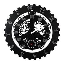 DIY Große Mechanische Stil Getriebe Wanduhr Moderne Design Rotation Multi-funktion Kreative Getriebe Uhr Wand Home Decor