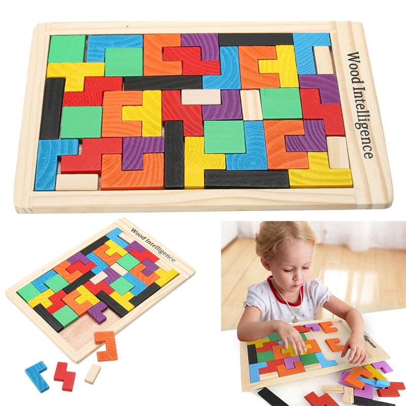 3D деревянные головоломки, головоломки, игрушки, танграмма, головоломка для мозга, трос, игра, Обучающие Детские игрушки, деревянные подарки...