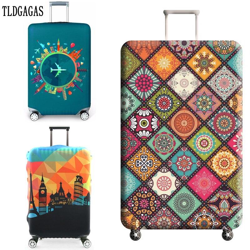 Funda protectora para maleta de viaje TLDGAGAS, accesorios de viaje, cubierta antipolvo para equipaje elástico, apto para maleta de 18 -32