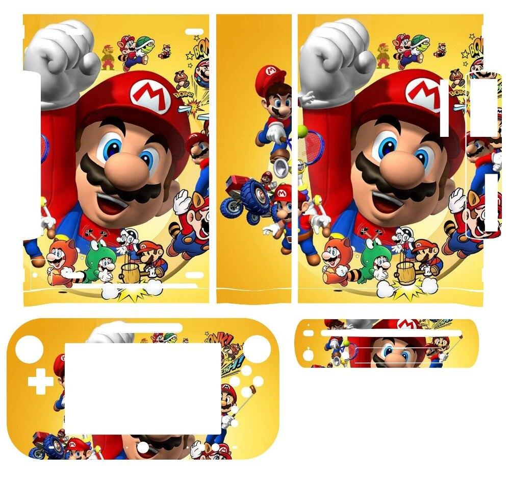 218 виниловые наклейки для кожи для Nintendo Wii U и наклейки для контроллера