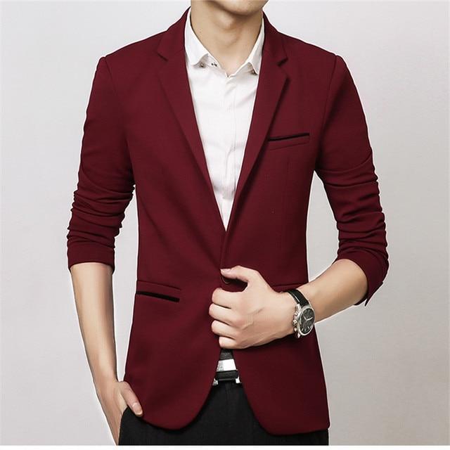 NEW Slim Fit Fashion Blazer 6