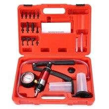 Kit de testeur de pompe à vide et à pression   Multifonctionnel à main, ensemble complet pour les tests des voitures, réglages des véhicules, opération
