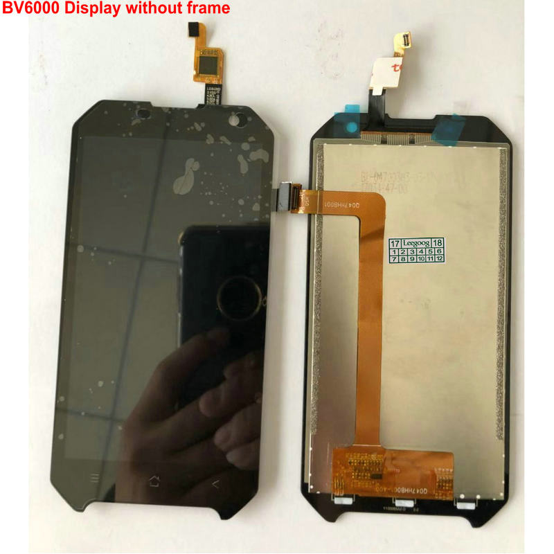 """For Blackview BV6000 Touch Screen Display BV6000s Replacment Digitizer 4.7""""Mobile phone Panels LCD"""