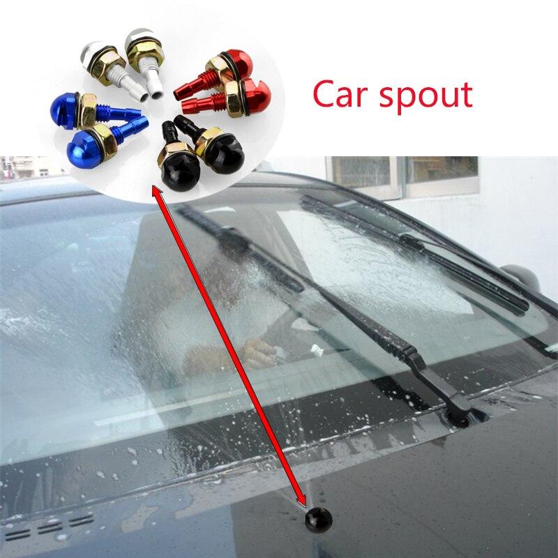 1 шт., автомобильный Стайлинг, стеклоочиститель, спрей для глаз, насадка для BMW E46 E39 E60 E90 E36 F30 F10 X5 E53 E34 E30 Mini Cooper Lada Granta