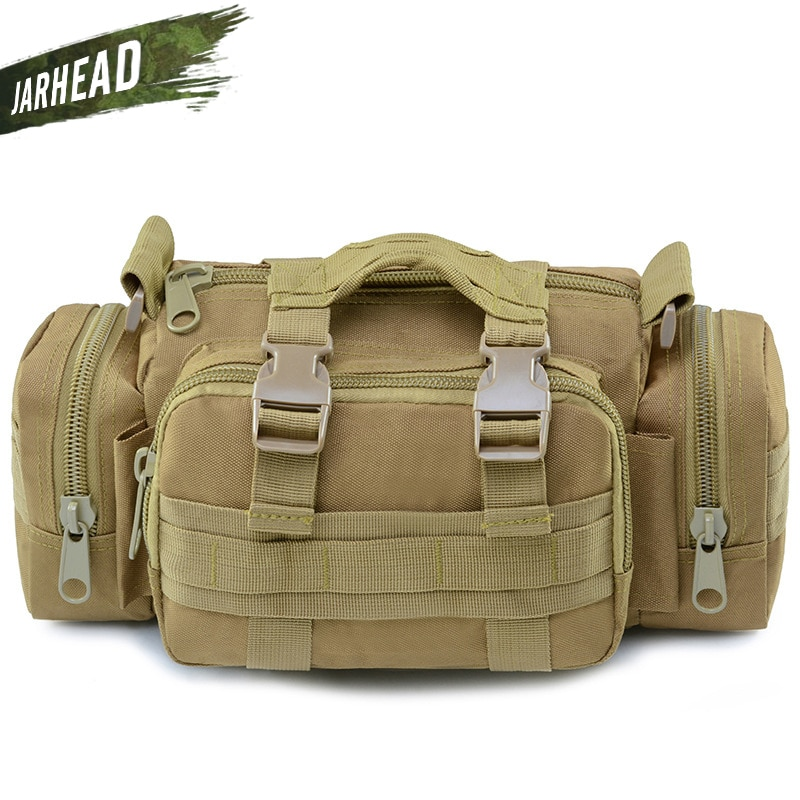 excellent elite spanker waterproof military tactical nylon hunting pouch bag multi function outdoor backpack hiking shoulder bag Upgrade 900D Outdoor Military Tactical Waist Bag Waterproof Nylon Camping Hiking Backpack Pouch Hand Bag Camera Bag
