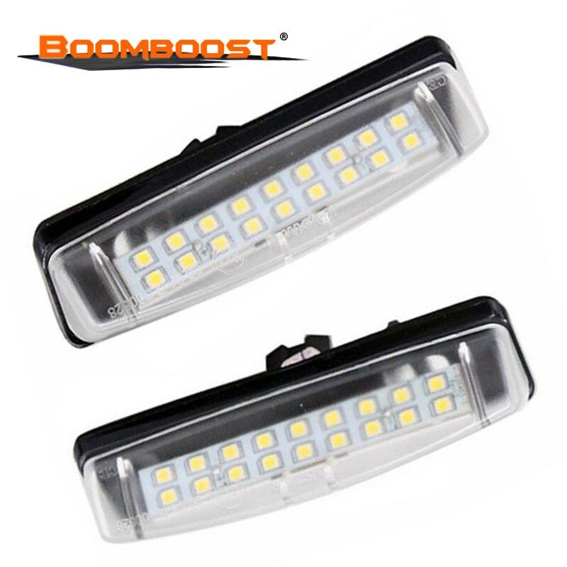 Para LEXUS Is200/Is300 1999 ~ 2005 (GXE10/JCE10) luz LED de matrícula para TOYOTA Camry Aurion 2006 ~ 2011 (ACV40/GSV40)