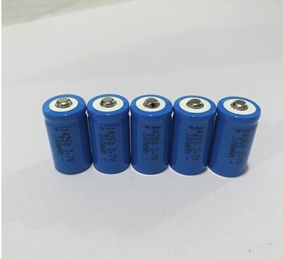 Nouvelle batterie au lithium 14250 3.7 V infrarouge vert extérieur instrument de visée laser rechargeable bat 2 pièces 1 lot batterie
