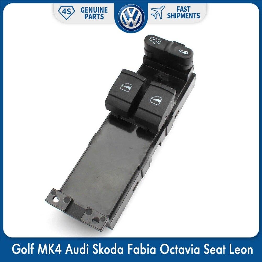 Interrupteur latéral pour Volkswagen VW Golf MK4   Interrupteur latéral, puissance principale, pour Audi Skoda Fabia Octavia Seat Leon 1J3 959 857