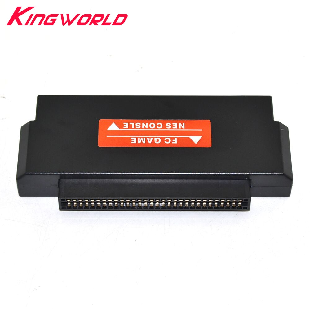 Schwarz 60 Pin Zu 72 Pin Adapter Konverter Für F-C Zu Für N-ES Konsole Usv-systeme