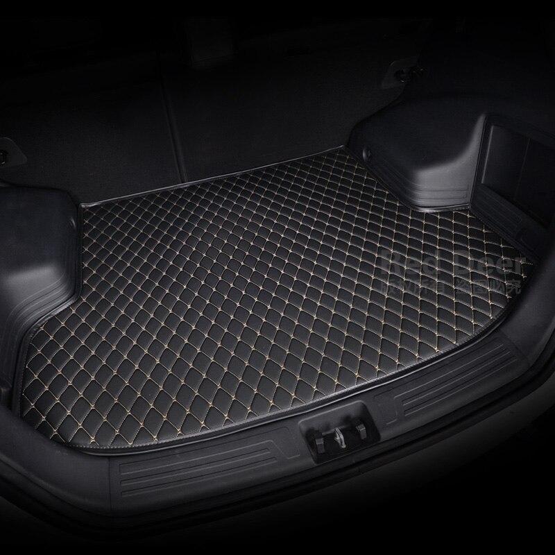 Estera de coche personalizada, especialmente para Tesla Model S X 70 70D 75 75D 85 85D P85D 90D P90D, todos los modelos para maletero