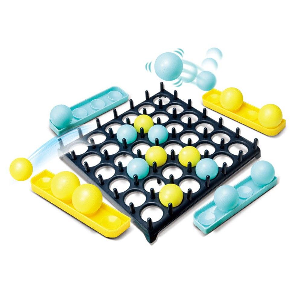 Juguetes de muebles, fiesta familiar, pelota de salto, pelota de rebote de escritorio, rompecabezas para niños, juguete de juego de batalla de interacción entre padres e hijos
