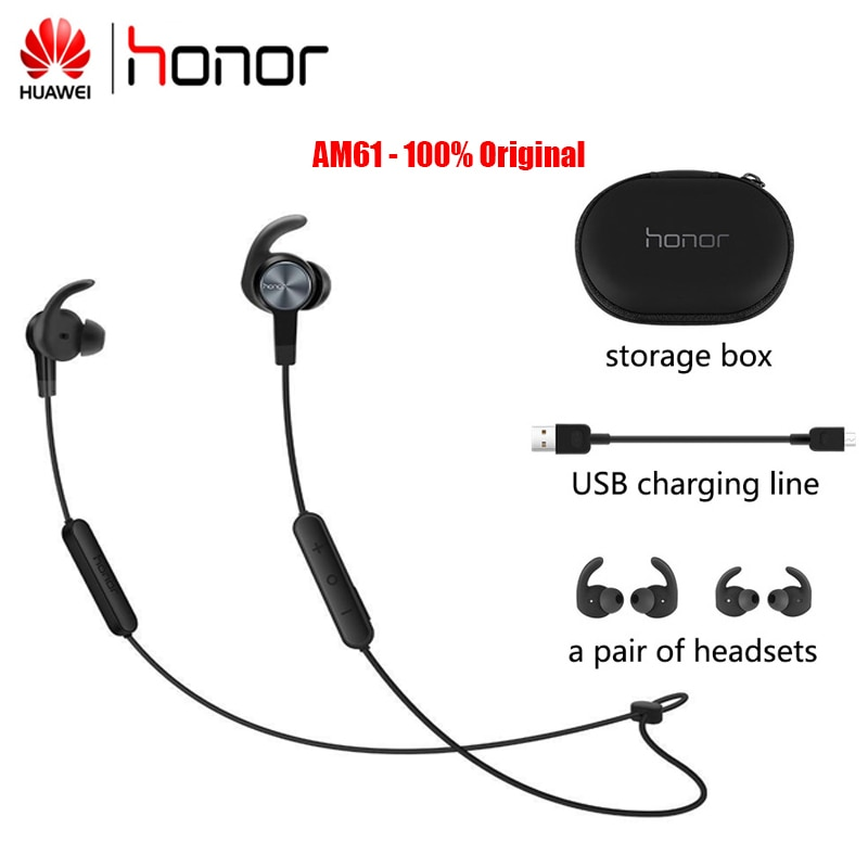 Huawei Original Honor AM61 Wireless earphone for Honor Huawei Xiaomi Vivo Bluethooth In-Ear Headsets With Micrphone