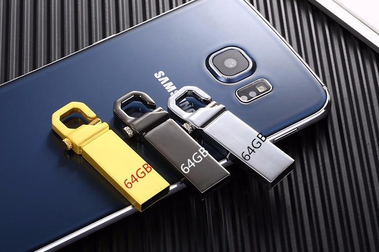 2020 распродажа Usb металлический Usb флеш-накопитель 8 ГБ 16 ГБ 32 ГБ 64 Гб 128 ГБ U-диск Флешка из нержавеющей стали 2,0 ключ памяти для подарка