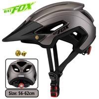 BATFOX Bike Helmet Mtb Cycling Helmet Integrally-Molded Women Bicycle Helmet Man Adult Road Fietshelm casco ciclismo bicicleta