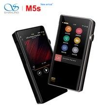 Портативный музыкальный плеер Shanling M5s, Bluetooth, Hi Res, MP3, двойной AK4493EQ, 2,5 мм, сбалансированный выход, поддержка LDAC/Qualcomm aptX/AAC, Wi Fi