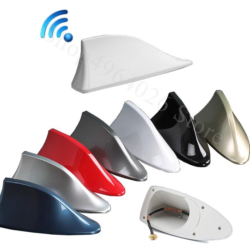 Для Hyundai i20 ix25 i30 ix35 i40 Tucson Accent 2008-2018 автомобильные сигнальные антенны акульих плавников аксессуары для стайлинга