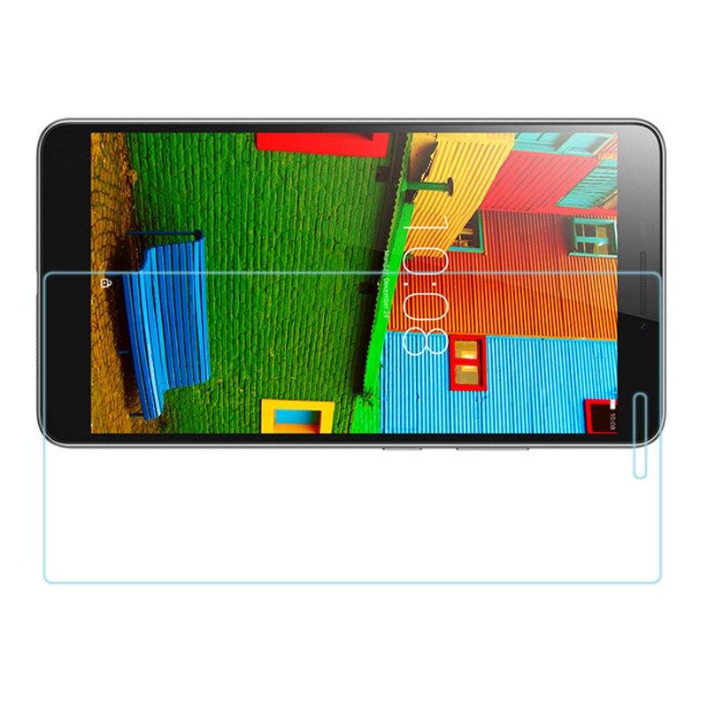 """Купить с кэшбэком 9H Screen Protector For Lenovo Phab PB1-750N 6.98"""" Tempered Glass for Lenovo Phab PB1 750N 750M PB1-750N Protective Film Glass"""