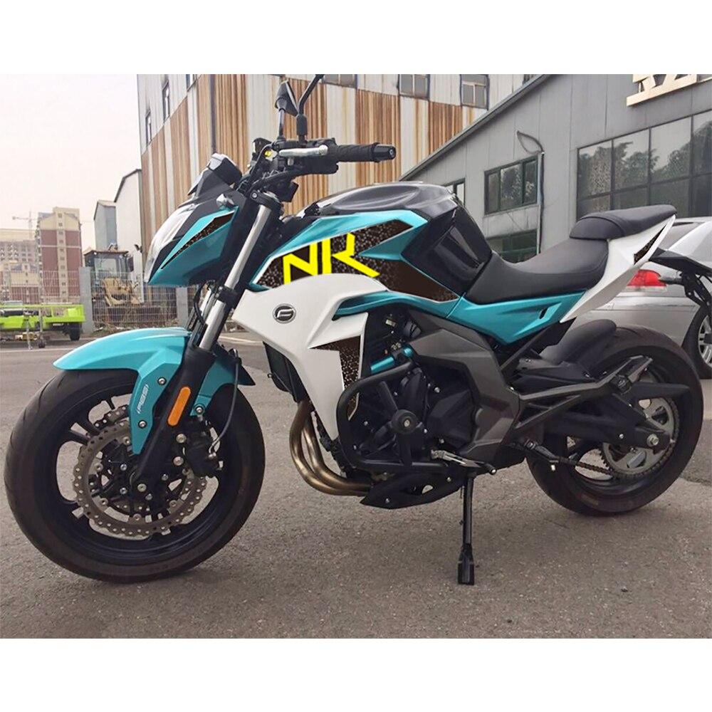 KODASKIN, pegatina de carenado 2D para motocicleta, pegatina de Emble para el cuerpo para CFMOTO 400NK 650NK, accesorios