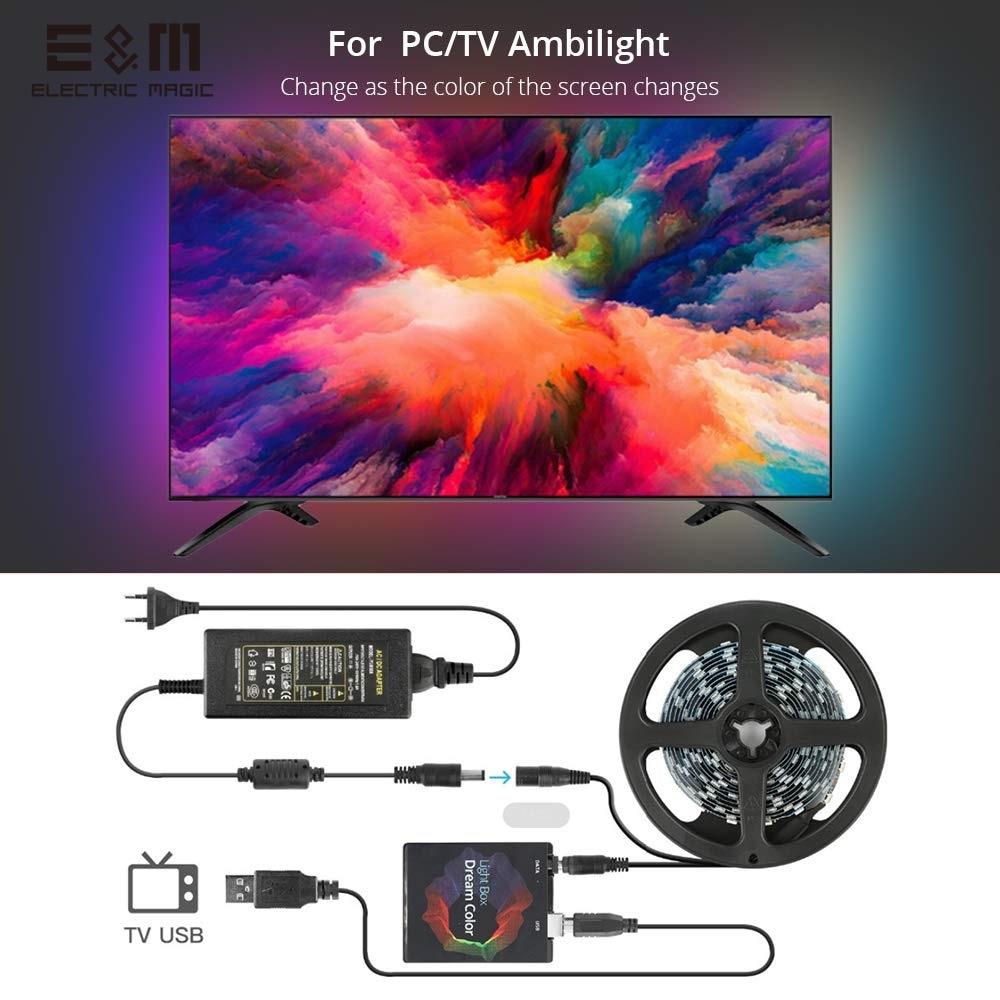 LED personnalisé rvb rêve couleur Ambilight Ambibox PC moniteur affichage TV écran synchronisation fond lampe