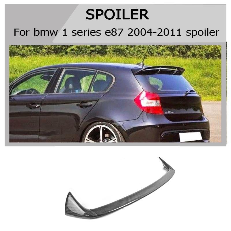 Alerón trasero serie 1 E87 estilo AC alerón de fibra de carbono para BMW E87 2004-2011 116i 120i 125i