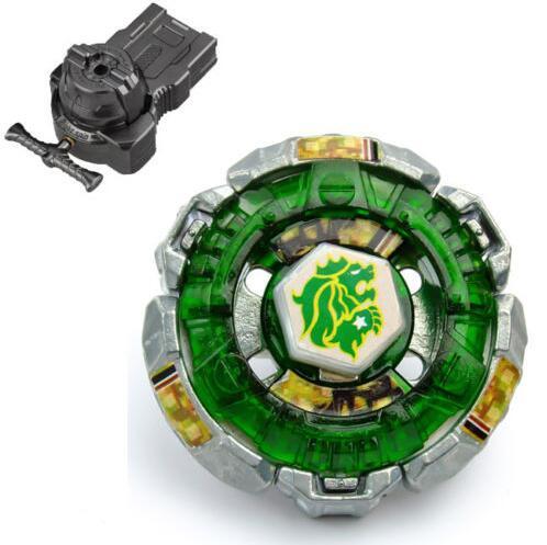 Bayblade Toys chico Spinning Top fusión de metales Fang130W2D BB106 + doble lanzador giratorio para niños
