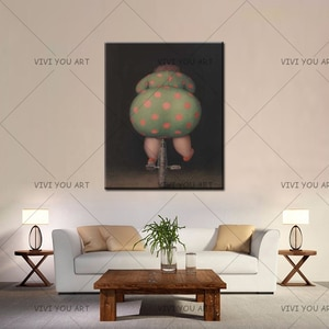 100% Handmade Art Sexy Girl Cycling Oil Paintings Painted Modern Abstract Painting On Canvas Wall Pictures Living Room Decor