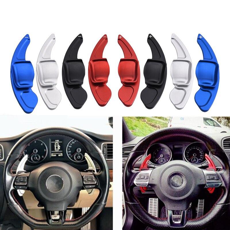 SPEEDWOW Автомобильное рулевое колесо весло удлинение DSG прямое переключения передач Удлинение лопасти для VW Tiguan Golf 6 MK5 MK6 Jetta GTI R20 R36