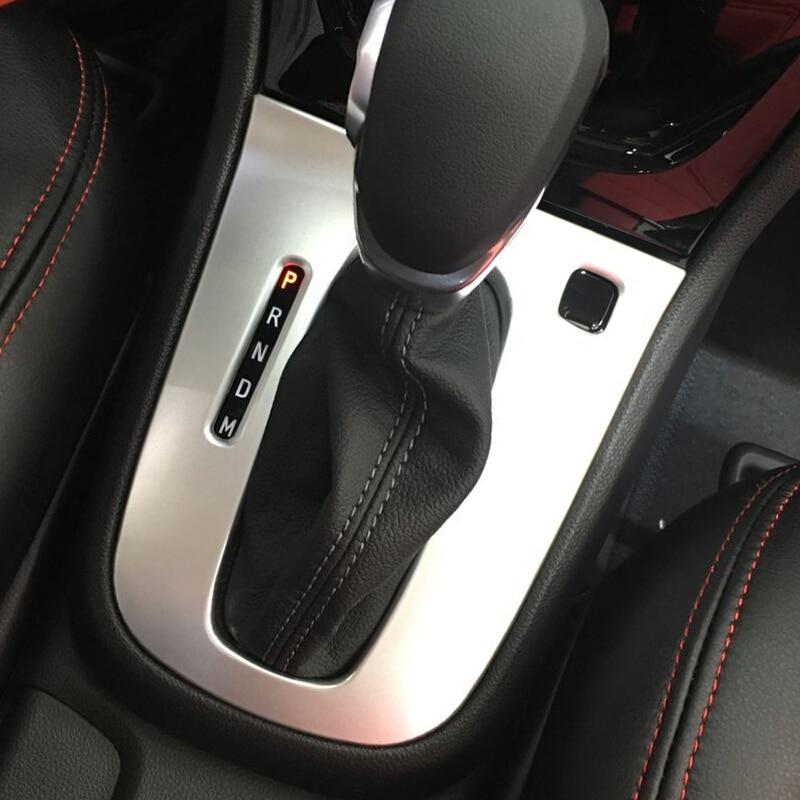 Для Buick Encore 2016 2017 2018 ABS матовая ручка переключения рулевого механизма автомобиля, рамка, декоративная панель, накладка, автомобильные аксесс...