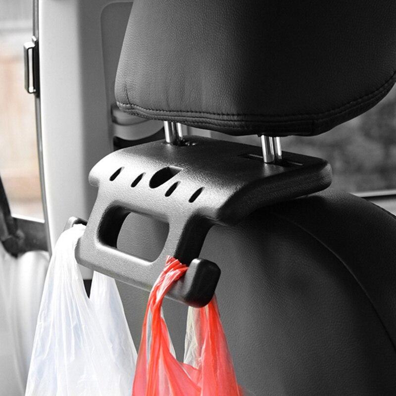 Universal assento de carro volta traseira alça de segurança no banco da frente para idosos e crianças detritos gancho ganchos acessórios do carro