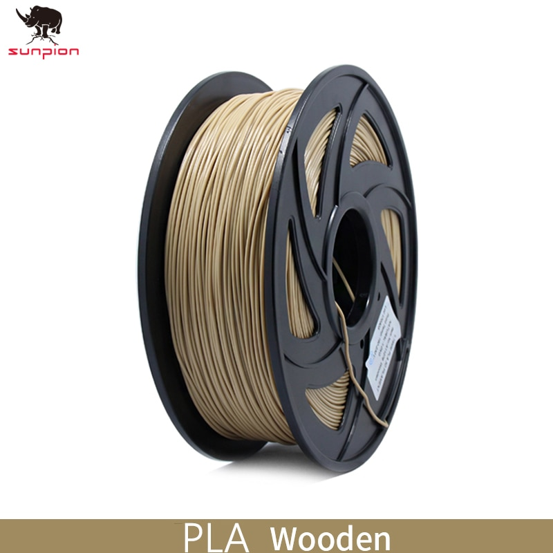 Filamento PLA para impresora 3D, filamento de 1,75mm, precisión Dimensional +/-0,02mm, 1KG, 343M, 2,2 libras, Material de impresión 3D para impresora 3d
