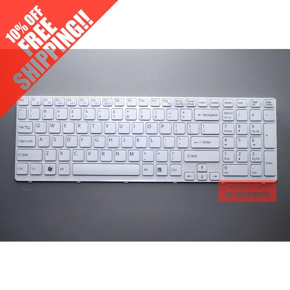 Para Sony SVE1512SAC SVE1512SSBC SVE1512SSCC SVE1512S teclado del ordenador portátil