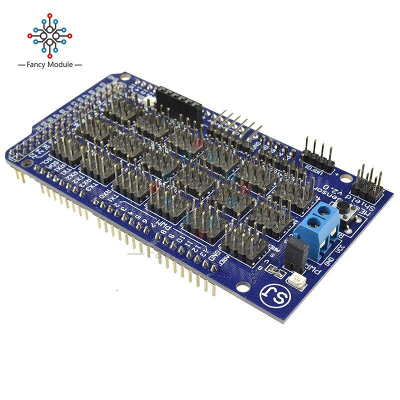 Модуль датчика Щит V2.0 V2 для Arduino Mega ATMEGA 2560 R3 1280 ATmega8U2 ATMEL AVR