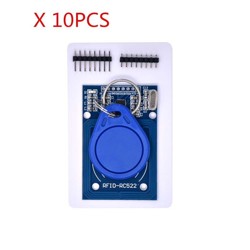 Envío gratis 10 piezas MFRC-522 RC522 RFID RF tarjeta IC módulo inductivo MFRC 522