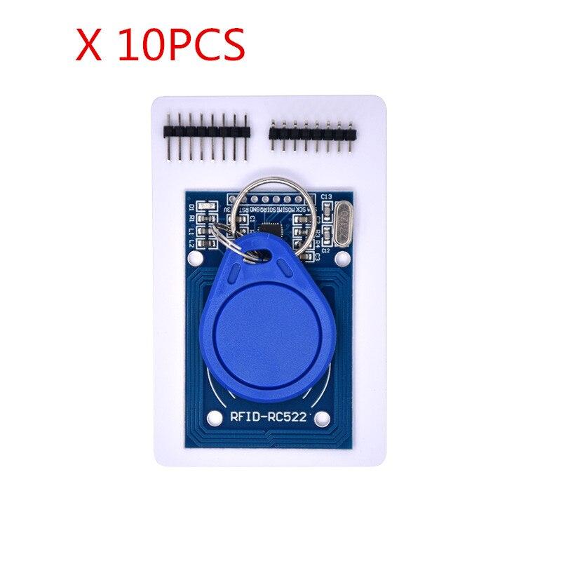 Frete grátis 10 pcs módulo MFRC-522 RC522 RFID RF IC cartão indutivo MFRC 522