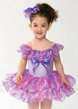 2018 New Children Ballet Dance Clothing Dress Cute Girls Princess Dress Skirt Dancing Costume Lady Stage Show Dress B-2380