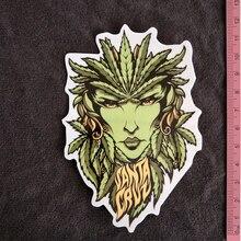 Santa Cruz Weed Goddess PVC cartoon stickers car stickers guitar bicycle refrigerator Buy 3 Free 1