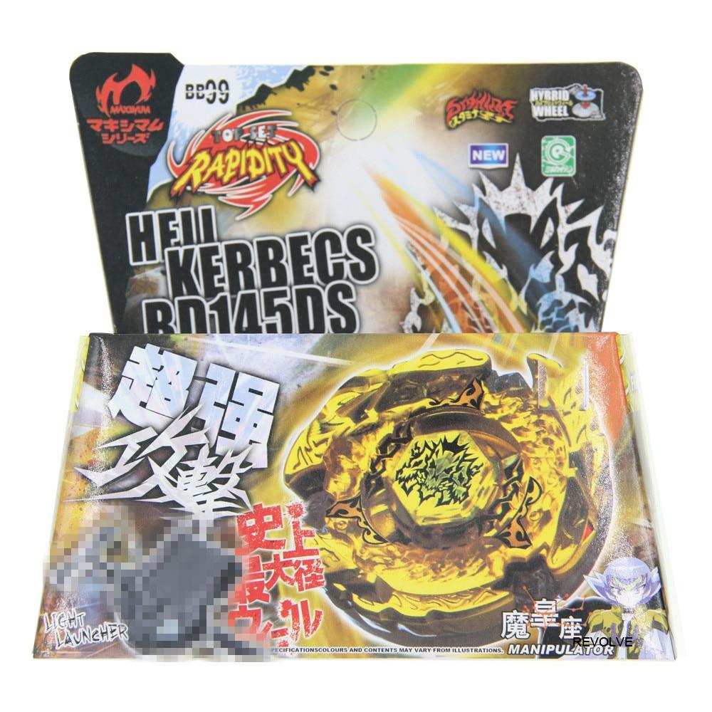 Hades Kerbecs / Hell Kerbecs Metal Masters 4D Bey Spinning Top blade BB-99