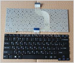 Novo teclado russo para sony svt14 svt13125cds svt131290s svt13115fds svt131190s sem moldura teclado portátil preto ru