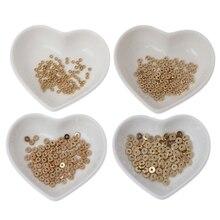 100 pièces métal lisse plat entretoise disque Heishi Rondelle perles bijoux à bricoler soi-même résultats bijoux fabrication perles